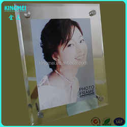 Factory supply cheap magnet acrylic frame for poster and photograph