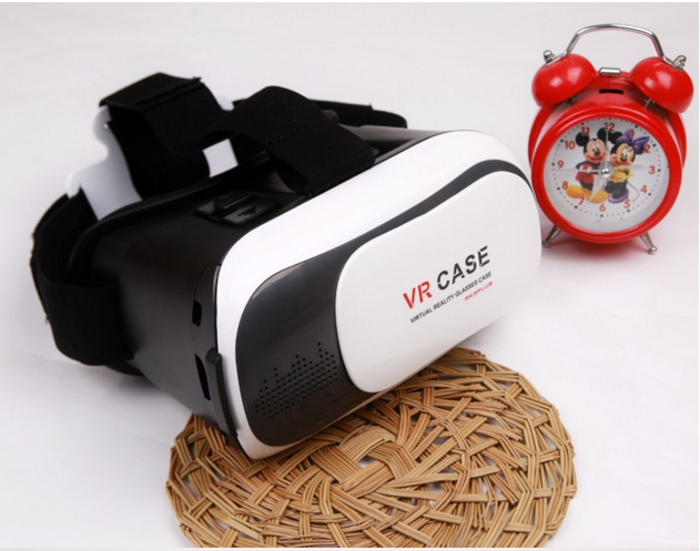 3d vr headset vr box 3D VR Virtual Reality Headset 3D Movie Game Glasses Adjust Cardboard VR BOX 2.0 For 3.5~6.0""