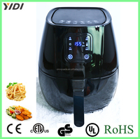 Hot-selling chips maker electric Air Fryer with Digital LED Touch Display for Healthy Frying no oil air deep fryer
