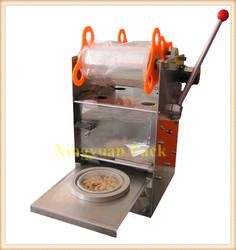 Handy plastic cup sealer machine/yogurt cup sealer