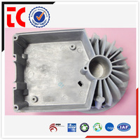Precision custom made aluminium lamp battery box die casting