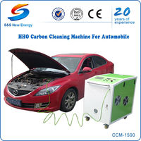 hho carbon cleaning solution / high frequency carbon cleaning machine for car engine / oxyhydrogen carbon deposit remover