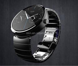 For Motorola Moto 360 smartwatch screen protectors , 0.06MM 3 layers slim Arc-Shaped film for Moto 360
