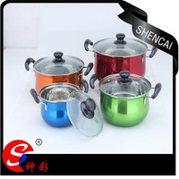 16/18/20/22/24cm New Style Stainless Steel Cookware Set With Bakelite Handle /Soup Pot/Casserole
