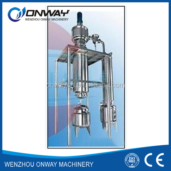 TFE hight efficient wipe film evaporator