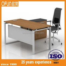 simple cheap executive desk,durable painting legs table