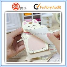 cute cat adhesive sticky note