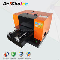 resonable price Digital Printer Type uv led flatbed inkjet printer in china