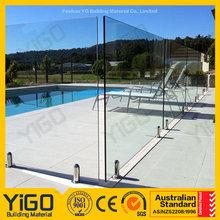 swimming pool railing uk/garden glass fence