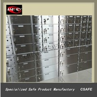 Stainless Steel Bank Safe Deposit Boxes