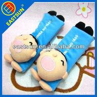 cartoon comfortable lint car seat belt cover pillow shoulder pad