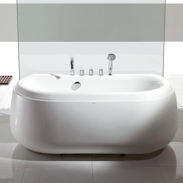 Fc 236 baignoire en pierre taille baignoire standard for Taille standard baignoire