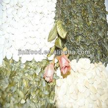 chino de calabaza blanca nieve granos de semilla de diferentes tipos de calabazas de grado aa