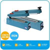 Hand Impulse Sealing Machine - Length 300 mm, Iron, 490 X 350 X 400 mm, TT-Z18C
