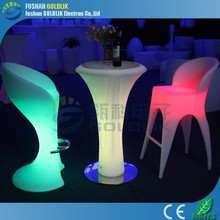 hot sell led table/led bar table/led cocktail table
