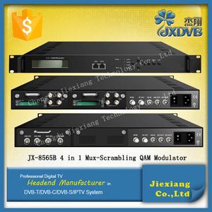 Ad Alte Prestazioni 4 Canali Scrambling ASI QAM Modulatore