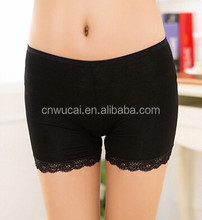 2015 new design lace panty women sexy boyshort
