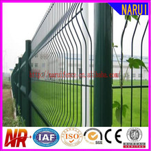 ISO wire fence mesh panels and poles