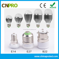 Good quality decorative led light bulbs 5w multi-role aluminum ic driver
