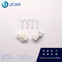 Automotive Connectors spacing 4.2MM 4P connector 1 set : Plug looper base terminal ( 100 Pairs )