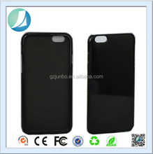 Black Rubberized Soft TPU Case for iPhone 6