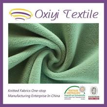 knitted cheap micro polar fleece fabric