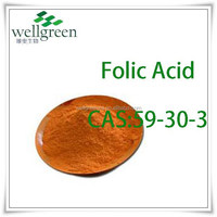 food ang pharma grade raw material High Quality Folic Acid(Vitamin B9)