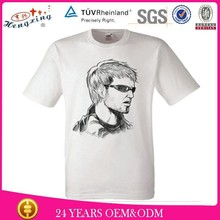 Hot Sale Fashion Cheap T-shirt Print Logo Custom 100% Polyester Wholesale Blank T-shirts