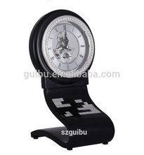 Waterproof Hot Sales Luxury Dial Table Clock with Wood Material JHF13-8071A