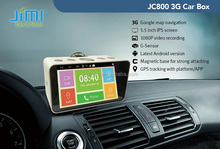 JIMI JC800 automative 3G&Wifi HD camera Recorder and navigator with Android system