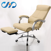 J-86 Top Quality fancy executive pu yellow leather office chair