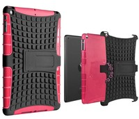 2 in 1 Hybrid Armor Case Shell with Kickstand for IPad Mini/Mini 2 6 Colors