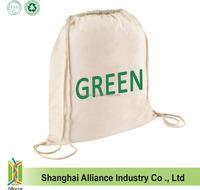 Cinch Sack Backpack - Drawstring Bags - Beach Bags - Natural Cotton Bag