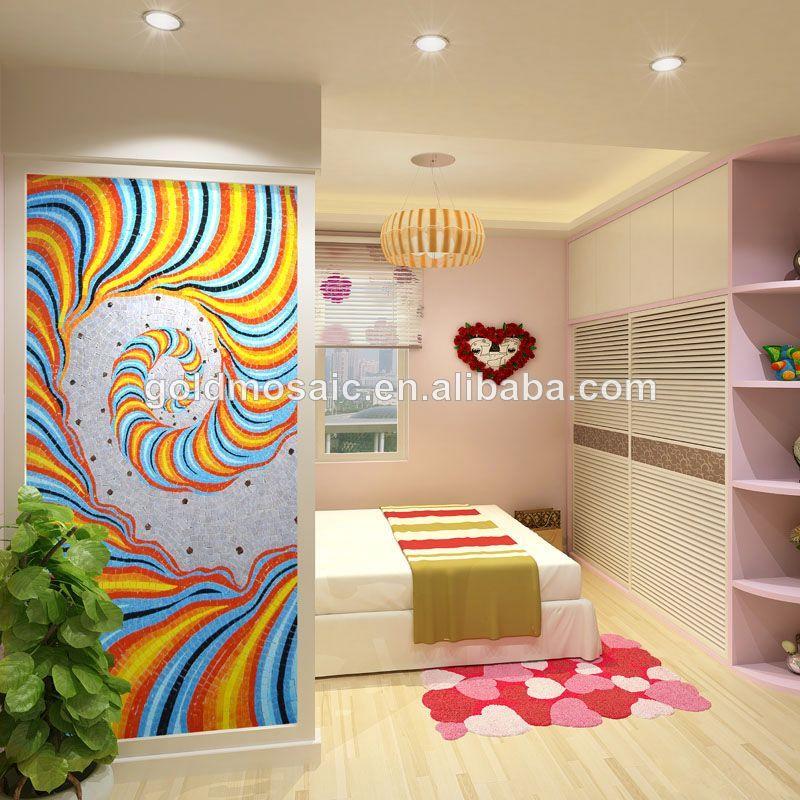 Hogar dormitorio mural de la pared caliente murales de for Papel pared dormitorio