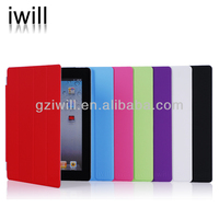 Smart leather cover for ipad2/ipad3/ipad4 , mobile phone accessory, OEM factory in China