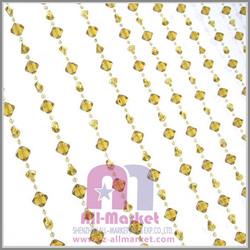 Crystal diamond plastic bead curtain