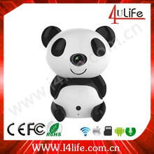 Cute Panda baby HD Wifi IP Camera Indoor Use for Baby care