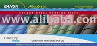 GALVANISED-GALVALUME COLOURED STEEL ROOFING SHEET