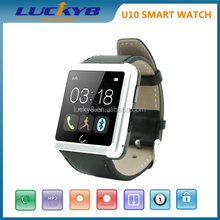 """2015 Black/white/gold colour 1.54"""" TFT touch screen Bluetooth SMS MMS Phone call couple lover wrist watch"""