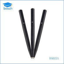 2015 wholesales black metal pen with diamond feature ballpoint pen
