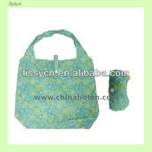 polyester foldable shopping bag