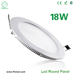 Ultra thin led panel light,18W round led panel light surfacemounted