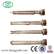 electric tubular immersion heating element for solar water heater