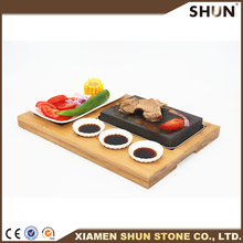 Grill stone steak lava stone/Steak cooking stone