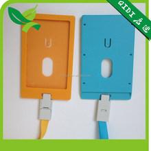 ZION Hard plastic ID card holder