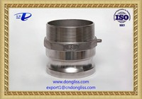 """5"""" stainless steel 316 water quick connect camlock coupling type F"""