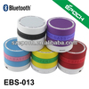 OEM Fashionable Design Stereo Sound Wireless Speaker Bluetooth with microphone for all music device