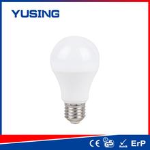 2015 innovation 220 degrees beam angle plastic/ Plastic+Alu cri70 led bulb a60 plastic ayers