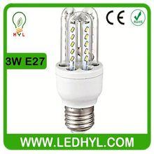 Energy saving lamp 3w AC85-265v 50/60Hz e27 3014 smd low cost energy saving bulbs