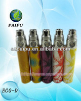 Colorful wholesale factory price new electronic cigarette battery ego D